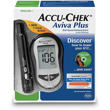 Accu Chek Aviva Diabetes Blood Glucose Monitoring Care Kit