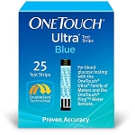 One Touch Ultra Test Strip - 25 Count
