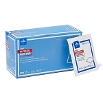Medline LARGE Alcohol Wipes: Pack of 100